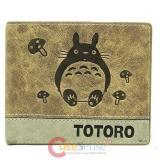 My Neighbor Totoro Leather Bi Fold Wallet  Anime Wallet