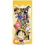 One Piece Luffy with Skull Metal  Key Chain