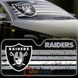 NBA Oakland Raiders Car Windshield  Front Window Sun Shade