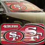 NBA San Francisco 49ers Car Windshield  Front Window Sun Shade