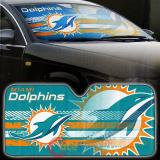 NBA  Miami Dolphins Car Windshield  Front Window Sun Shade