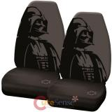 Star Wars Darth Vader Front Car Seat Cover Set--High Back Seat