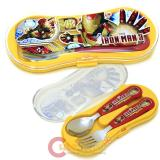 Marvel Iron Man Silverware Set Spoon Fork Set with Case