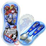 Marvel Avengers Silverware Set Spoon Fork Set with Case