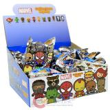 Marvel Series 1  3D Foam Key Ring Key Chain Series 1 * Bland Pack *