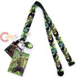 Marvel Avengers Hulk Lanyard Keychain ID Holder with Charm Dangle