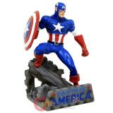 Marvel Captain America Business Card Holder Resin Statue