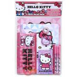 Sanrio Hello Kitty School Stationary Set  11pc Value Pack