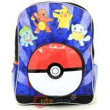 Pokemon XY Pokemon Group Jump Large School Backpack with Pokeball Pocket