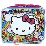 Sanrio Hello Kitty School  Lunch Bag , Snack Box : Rainbow Party