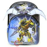 Transformers Bumble Bee Large  School Backpack 16in Book Bag -Pterosaur Attack