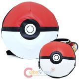 Pokemon Pokeball Dome Shape Large School  Backpack Lunch Bag 2pc Set