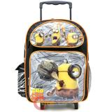 "Despicable Me 3  Minions Large School Roller Backpack 16"" Rolling Bag -Movie"