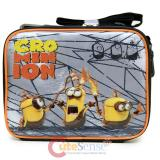 Despicable Me 3 School Lunch Bag Minions Insulated Box -Movie Cro Minion