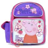 "Peppa Pig Medium School Backpack 12"" Girls Bag - Apple Blossom"