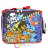 Star Wars 7 School Lunch Bag Lunch Cooler Insulated Box - Rebel Fighters
