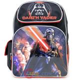 "Star Wars Darth Vader Large School Backpack 16"" Boys Bag - Death Star"