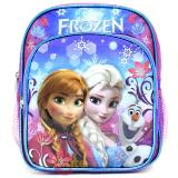 "Disney Frozen Elsa 10"" School Backpack  Toddler Mini  Bag- Floral Flakes"