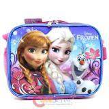 Disney Frozen Princess Elsa School Lunch Bag Insulated Snack Bag- Floral Flakes