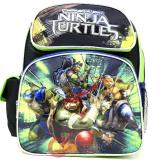 "TMNT Teenage Mutant Ninja Turtles 12"" Small  School Backpack  Book Bag- Movie"
