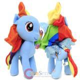 "My Little Pony Large Plush Doll 12"" Soft Stuffed Toy  - Rainbow Dash"