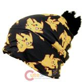 Pokemon Pikachu All Over Print Beanie Hat (Teen-Adult)