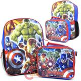 Marvel Avengers Age of Ultron Large Backpack with Detachable Lunch Bag