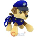 "Nick Paw Patrol Chase Plush Doll Backpack 14"" Costume Bag"