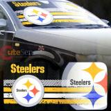 NFL Pittsburgh Steelers Car Windshield  Front Window Sun Shade