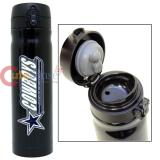 NFL Dallas Cowboys Vacuum Insulated Tumbler Travel Cup with Metal Logo Emblem