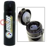 NFL Pittsburgh Steelers Vacuum Insulated Tumbler Travel Cup with Metal Logo Emblem