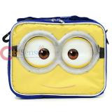Despicable Me  School Lunch Bag Minions 2 Eye Face Insulated Box