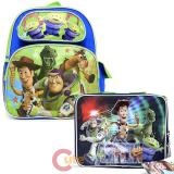 "Disney Toy Story 12"" Small  School Backpack with  Lunch Bag Set - Infinity"