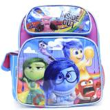 "Disney Inside Out 12"" School Backpack Small Medium Book Bag - Rain Emotion Pink"