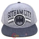 DC Comic Batman Gotham City Sanpback Hat Trucker Flat Bill Cap