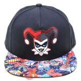 DC Comics Harley Quinn Mens Sanpback Hat Trucker Flat Bill Cap