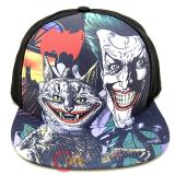 DC Comic Batman Joker Snapback Hat  Flat Bill Cap with Meme