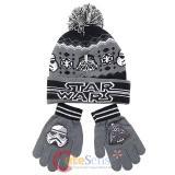 Star WarsCuff Beanie Hat Gloves Set - Darth Vader Stom Tropper Youth