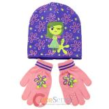 Disney Insideout Disgust  Beanie Hat Gloves Set -Youth Size