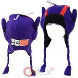 Disney Big Hero 6 Hiro Peruvian Knitted Beanie Laplander Hat