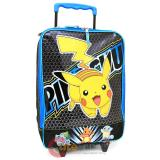 Pokemon XY Soft Rolling Luggage Suite Case Travel Bag Pilot Case