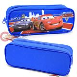 Cars Mcqueen  Pencil Case Zipppered Bag Pouch with Francesco -Blue