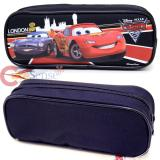 Cars Mcqueen  Pencil Case Zipppered Bag Pouch with Francesco -Black London WGP