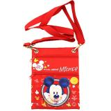 Disney Mickey Mouse Passport Bag Body Shoulder Cross Bag