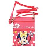 Disney Minnie Mouse Passport Bag Body Shoulder Cross Bag