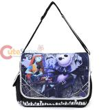 Nightmare Before Christmas Shoulder Messenger Bag -Jack & Sally