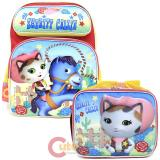 "Disney Sheriff Callie Wide West 16"" Large School Backpack Lunch Bag 2pc Set"