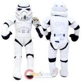 "Star Wars Stormtrooper  Jumbo Plush Doll 26"" Bedding Cuddle Pillow"