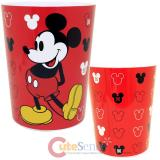 Disney Mickey Mouse  Wastebasket Classic Symbols Trash Can Wastecan