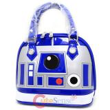 Star Wars R2D2 Shiny Embossed Dome Hand Bag Purse